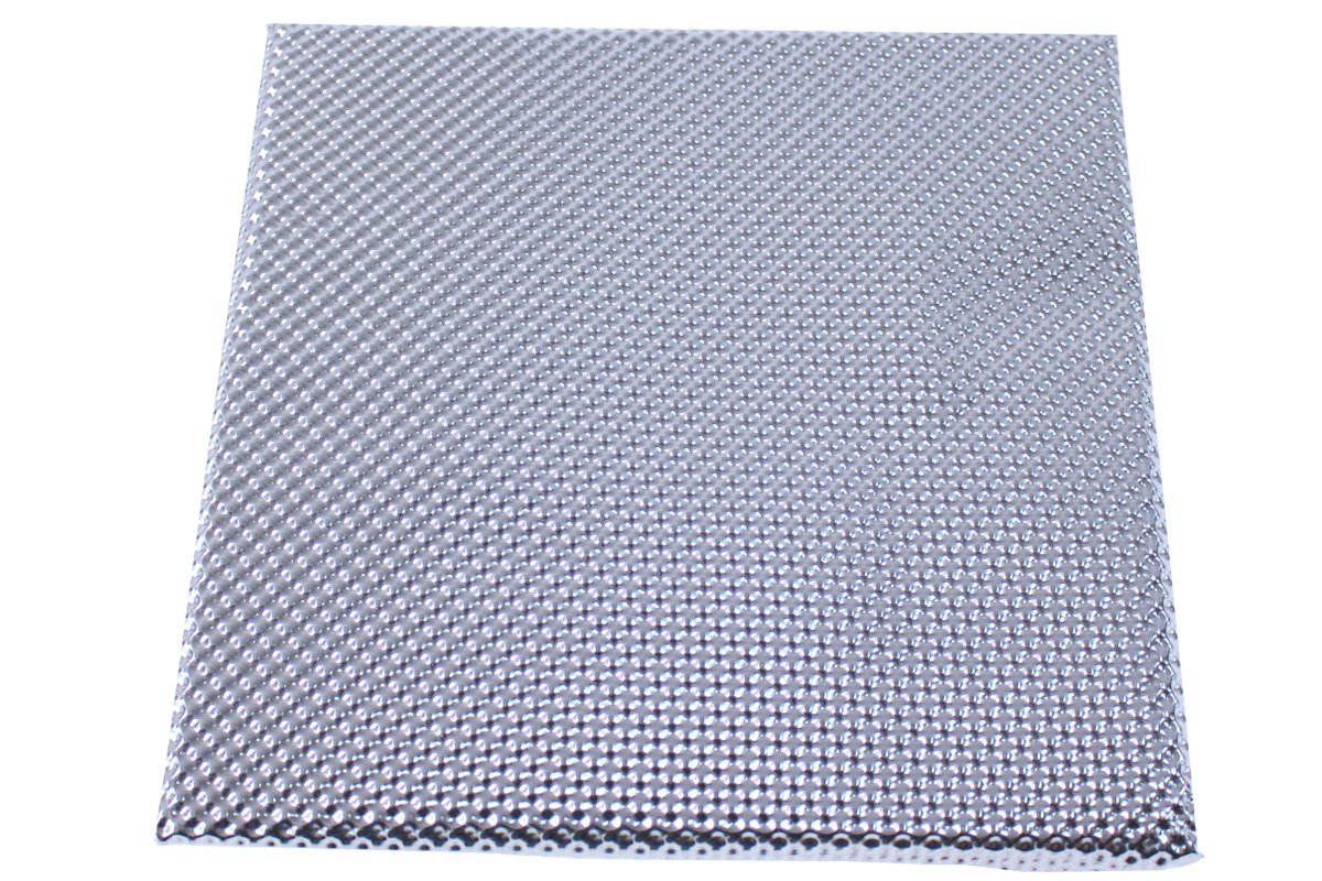Osłona termiczna Extreme podłogi i tunelu Turboworks 12mm x 60cm x 60cm Aluminiowa - GRUBYGARAGE - Sklep Tuningowy